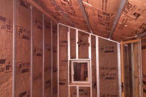 Construction d'une extension, Isolation et Placoplatre pour une extension de maison
